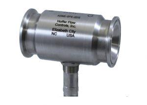 Messturbine mit TRI-Clamp Anschluss für Sanitary