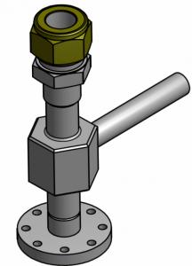 Sonderbau Messturbine Luft- und Raumfahrt